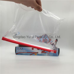 حقيبة منزلقة مزودة بقفل Zip خالية من مادة BPA لتخزين الطعام