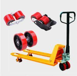 Handpalletkrik nylon Trolley PU-wiel, hydraulische AC-pomp