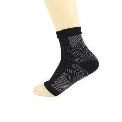 新しい適性の捻挫の保護圧縮のソックスの伸縮性があるナイロンフィートカバーヨガの足首はソックスを遊ばす