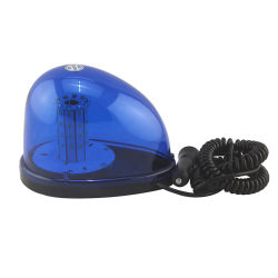 DC12-24V手段のための自在継手によって破烈させる点滅標識LEDの点滅のストロボ軽い磁気の、青いLED緊急の警告ランプ