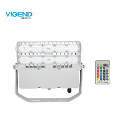 100W FOCO LED RGB LED con 2.4G de Control Remoto RF resistente al agua para la iluminación exterior