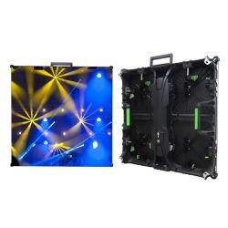 P3.91 500*500mm Boîtier en aluminium moulé sous pression, écran LED de location de plein air