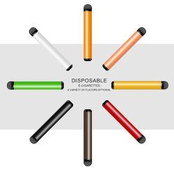 Mejor precio de 400 inhalaciones cigarrillo electrónico Kit de inicio de Vape no desechables ardiente