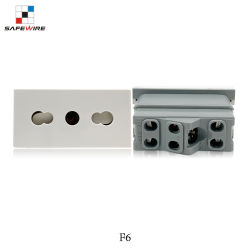 45*45mm Italien Chile Adapter-Italien-Chile Kontaktbuchsen Anschluss-Italien-Chile