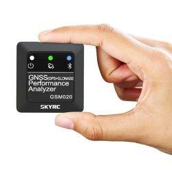Tester di velocità di Bluetooth APP GPS di potere dell'analizzatore di prestazione di Skyrc GSM020 Gnss per l'elicottero dell'automobile di RC