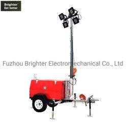 beweglicher heller Aufsatz des Dieselgenerator-4*350W (KLT-8000 LED)