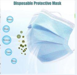 Fast Shipping 650 containers van China Face Mask 3-laags Oorhaakje voor wegwerpbare gezichtsbescherming met goede kwaliteit en certificaten