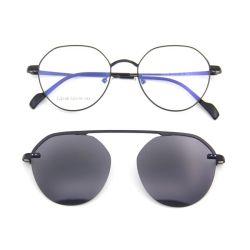 Fashion Metal Clip-on Glasses frames Eyewear gepolariseerde Clip op zonnebril