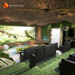 테마 파크 특수 효과 공룡 4D 5D 영사기 영화관 시스템 장비