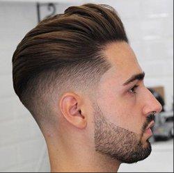 Kbeth Human 머리 가발과 관광객들은 맨 에세와그를 짧게 만듭니다 1b 브라질 레미 리얼 10x8 전체 스킨 PU 주변 사용자 지정 대머리 남성용 끈 좋은 가격