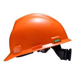 Casco di sicurezza scanalato il V-Gard industriale del cappello duro di ABS/HDPE con la sospensione di 4-Point Fas-Trac III