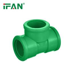 IFON raccordi per tubi in PVC verde di alta qualità connettori in PVC Raccordo per tubi in UPVC, raccordo a T