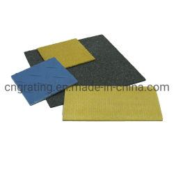 FRP GRP Fibgerglass 단면도 Pultruded 단면도 표지판 모래/검사된 패턴/냄새맡기 격판덮개