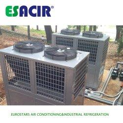 Di lunga vita effettuare la pompa termica anticorrosiva di sorgente di aria dell'acciaio inossidabile del condizionatore d'aria