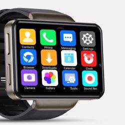 Nieuwe producten 2.41 inch Android Smart Watch 4G mobiele telefoon met WiFi Video Calling GPS Waterproof Heart Rate Monitor Smartwatch Dm101