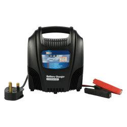 Ftpower un1204s Cargador de batería de plomo ácido con cuentagotas y flotación de la carga, la CE y RoHS