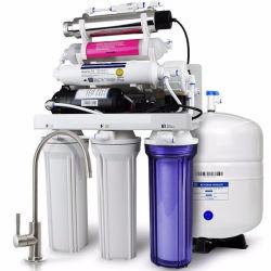 7 Etapa 75gpd esterilizador UV Sistema de osmose inversa purificação inicial RO de purificador de água do Filtro de Água