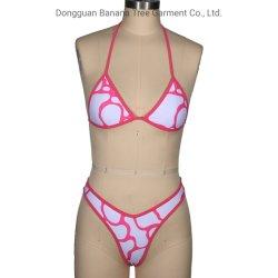 주문품 동점 수영복 섹시한 소녀 뒤집을 수 있는 비키니 Beachwear
