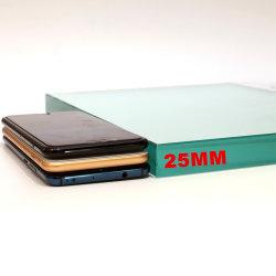 2mm 3 mm 5 mm 4 mm 6 mm de 8mm 10mm 12mm 15mm 19mm 22mm 25mm d'échantillons de verre flotté clair (W-TP)