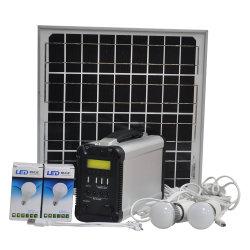 Fabrik Soem-Hauptgenerator-Installationssatz-bewegliches Solarprodukte PV-Panel-Energie-Stromnetz 2020 mit Paygo alles in einer Inverter-Controller-Batterie für das Beleuchtung-Kampieren