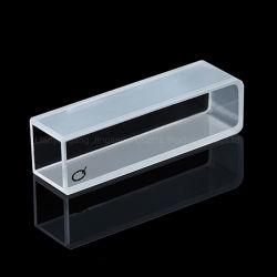 Material de vidro de laboratório cubeta de quartzo para Spectrometerwith