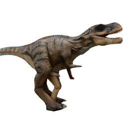 Costume ambulante realistico del dinosauro di Animatronic del parco di divertimenti