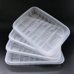 半透明の使い捨て PP トレイフリーシュフードプレートスーパーマーカー肉トレイ