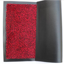 Teppich Türmatten / Polypropylen Cut Flores Türmatte, Indoor Walk off Matte / Polypropylen Türmatte Cut Flormatte zum Verkauf