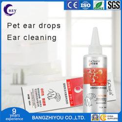 Batteri del liquido dell'orecchio di alta qualità professionale e deodorante di pulizia di pulizia dell'acaro