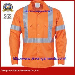 hecho personalizado de alta calidad de la moda ropa de trabajo de desgaste (W153)