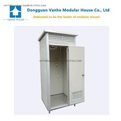 Conteneur plastique préfabriqué portable grand public des toilettes avec douche