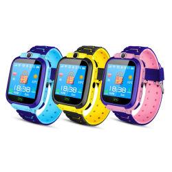 Child Watch 2020 최신 모델 Q12 Kids Smart Watch 방수 SOS 스마트폰 LBS 남아와 여아용으로 다국어 베이비 워치 스마트 워치