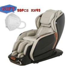 Cadeira de Massagens 2D inteligente com rolos de pé massagem / Zero Gravity / /Bluetooth sem fio carregador USB/Full Corpo / cadeira de massagens Kd-1800A/Bk