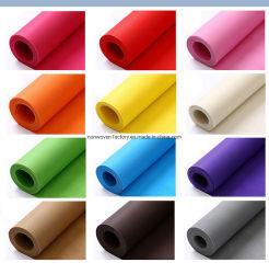 Materia prima de alta calidad colorido no tejido Bolsa ecológica reutilizable bolsa de regalo para el tejido sin tejer