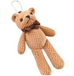 テディー・ベアのKeychainの赤ん坊のギフトのための習慣によって詰められるプラシ天のおもちゃ
