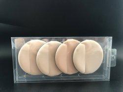 O PVC transparente caixa de plástico para produtos cosméticos em pó esfoliante caixa de embalagem