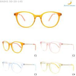 金属の寺院光学Eyewearが付いているキャンデーカラー女性の方法アセテートフレーム