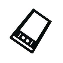 Les appareils électriques de la conception de 2 mm de verre sur la touche de l'écran de soie de verre
