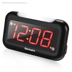 Alarma Digital/Reloj de sobremesa/Tabla de fácil ajuste del reloj Big Red dígitos para el dormitorio Salón
