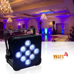 Transferir 16 CH 100W 200W levou 12*12ww Focus Medidor de Teste COB luz nominal 200W LP32