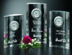 Crystal Award de l'horloge (CA-1222)