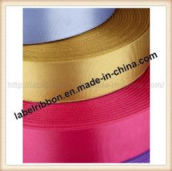 2 Visages colorés tissé de polyester à bord de Satin (DW600)