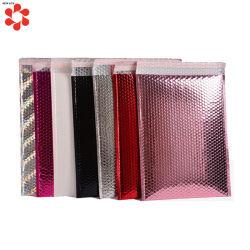 Kundenspezifische gedruckte dekorative sendende Luftblasen-Beutel in der hellen gelben Farbe für das Umschlag-Verpacken