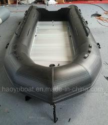 하오유 보트 15.4ft 4.7m PVC 팽창식 보트 고무 스포츠 보트 낚시 보트 래프팅 보트 바나나