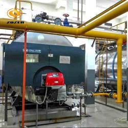 riscaldatore di acqua a gas orizzontale del tubo di condotto di scarico 5.6MW