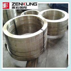 De grand diamètre bague forgée en acier inoxydable sans soudure faite par 4000mm Laminoir de sonnerie