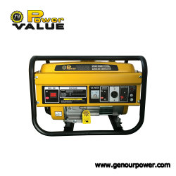 2 квт мощности 6.5HP 5.5HP G бензин генератор с сертификат CE вручную