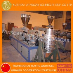 PVC 관 밀어남 기계 Line/UPVC 관 생산 라인 또는 플라스틱 PVC/UPVC/CPVC 전기 도관 관 물 Sewage& 압력 공급관 선