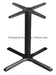 Le restaurant de meubles de salle à manger de la jambe de base de la Table ronde en métal