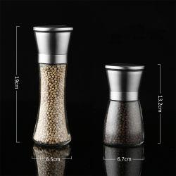 Smerigliatrice di ceramica del nuovo pepe manuale di arrivo, laminatoio portatile del sale